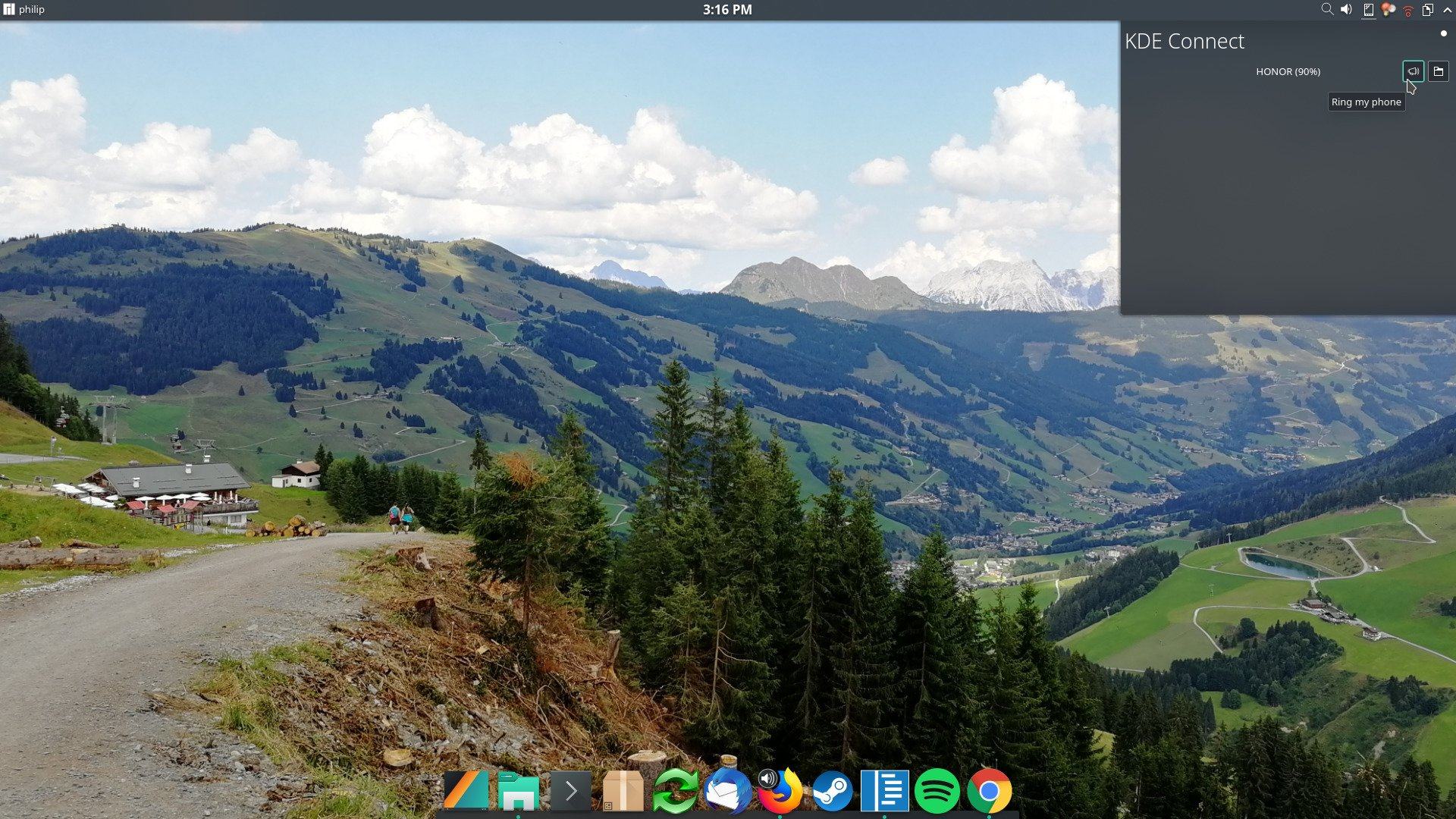 KDE Connect: Let Android and Linux devices communicate